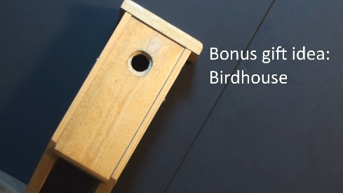 Birdhouse for songbirds