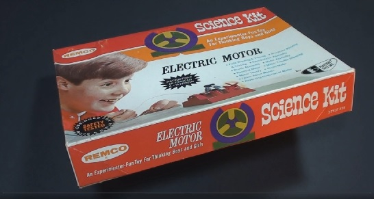 Remco Electric Motor Science Kit