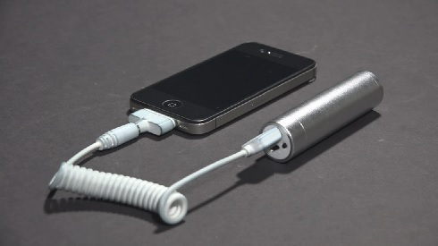 iPhone and back-up power