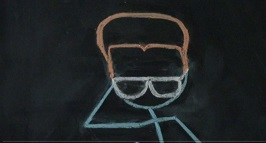 Chalkboard animation cell #3