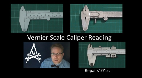 Vernier scale calipers by Repairs101