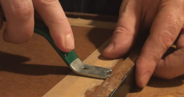 Installing Diamond points with Fletcher push tool