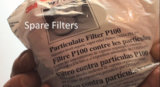 3M particulate filters